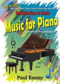 Music for Piano Tuition Book by Paul Kenny